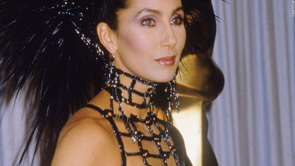Cher was never shy about showing her body, as showed by her famous outfit, complete with headdress, for the 1986 Acadamy Awards.