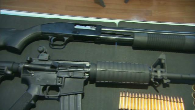 Looking at the Colorado shooting arsenal