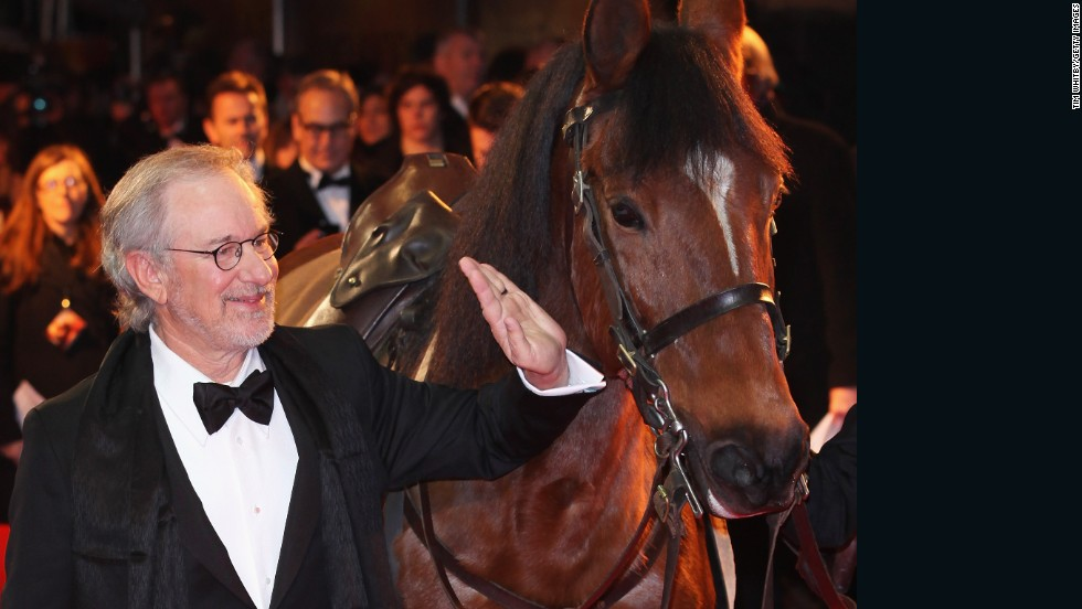 Oscar-winning director Steven Spielberg's interest in horses does not stop at the movie set. He co-owned racehorse Atswhatimtalkingabout, which came fourth in the 2003 Kentucky Derby. He is also an investor in Biscuit Stables, the Delaware-based race trainers.