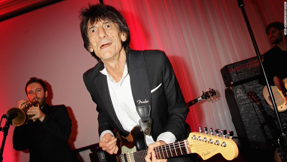 Rolling Stones guitarist Ronnie Wood runs Sandymount Stud in Ireland. He has also raced his own horses, including Sandymount Earl -- a gelding which won three times in three months at The Curragh, home of the Irish Derby.