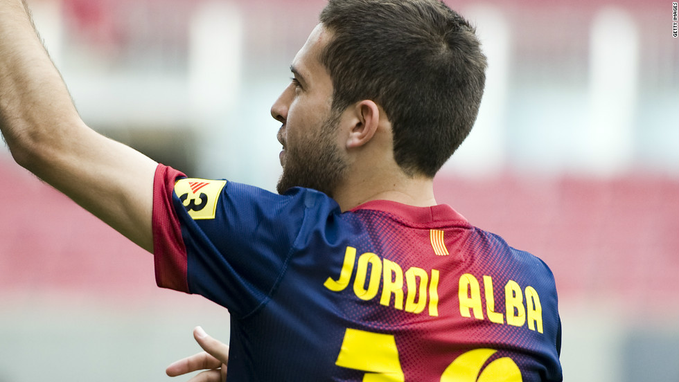 <strong>Valencia to Barcelona</strong>New Barca boss Tito Villanova acted quickly to fill the gap left since Eric Abidal's liver transplant, bringing in Spain's Euro 2012 surprise standout player Jordi Alba for a bargain $17 million to fill the left-back slot before the tournament had even finished.