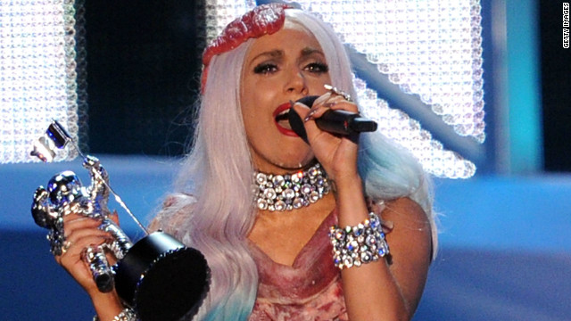 Lady Gaga's wardrobe -- such as the meat dress -- has sometimes overwhelmed her music.