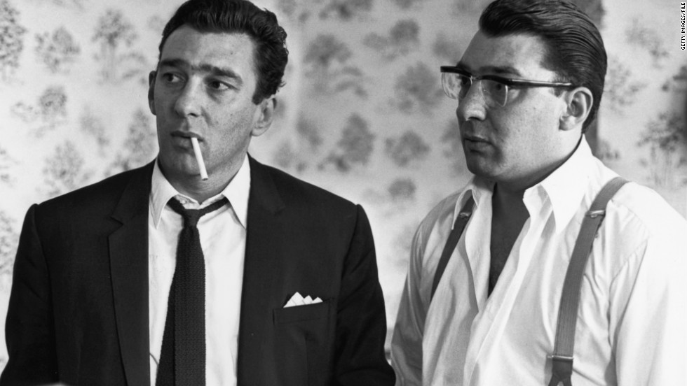 The East End was also home to the notorious cockney gangsters Reggie (right) and Ronnie Kray, who shot a man dead at the Blind Beggar pub in Whitechapel in 1966.