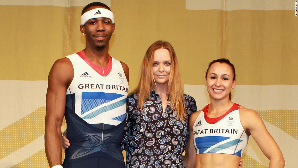 It was inevitable that much would be made of Stella McCartney's designs for Team GB, with an expectant home crowd keen to see how their heroes will be dressed. The award-winning designer has attracted some criticism for failing to include enough red in the Union Jack-inspired attire.