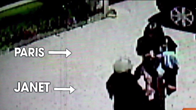 Jackson family 'scuffle' caught on camera