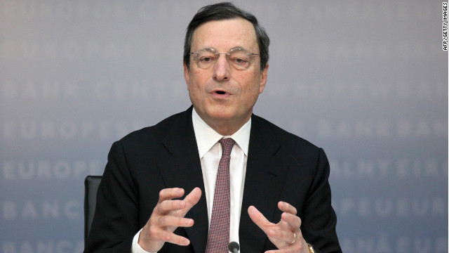 Spiro says ECB head Mario Draghi deserves most of the credit for the recent shift in market sentiment towards the eurozone.