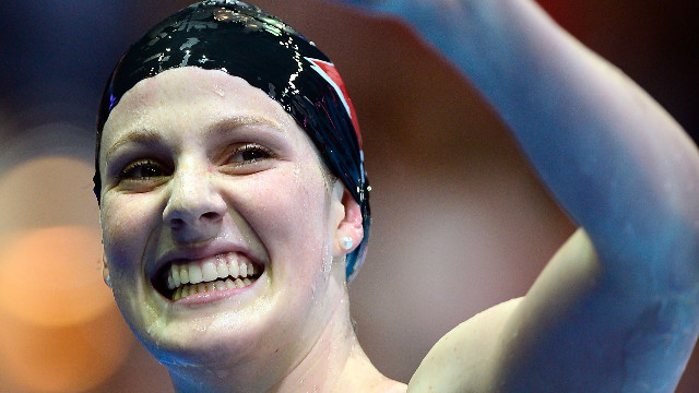 Swimmer poised to take Olympic spotlight