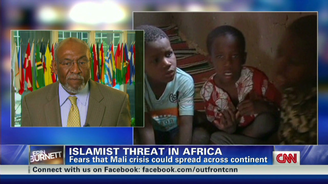 U.S. response to Malian crisis