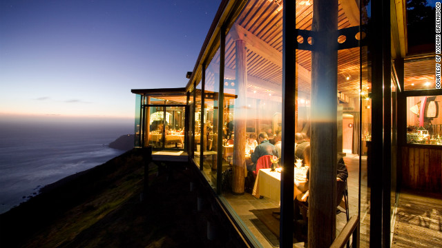 Panoramas of the Big Sur coastline are a highlight in each of Post Ranch Inn's 39 rooms.