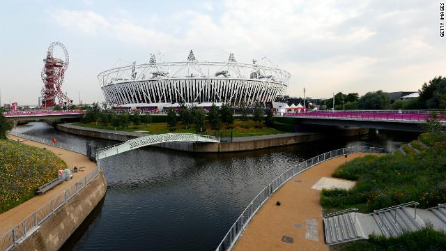 Olympic Stadium, London.