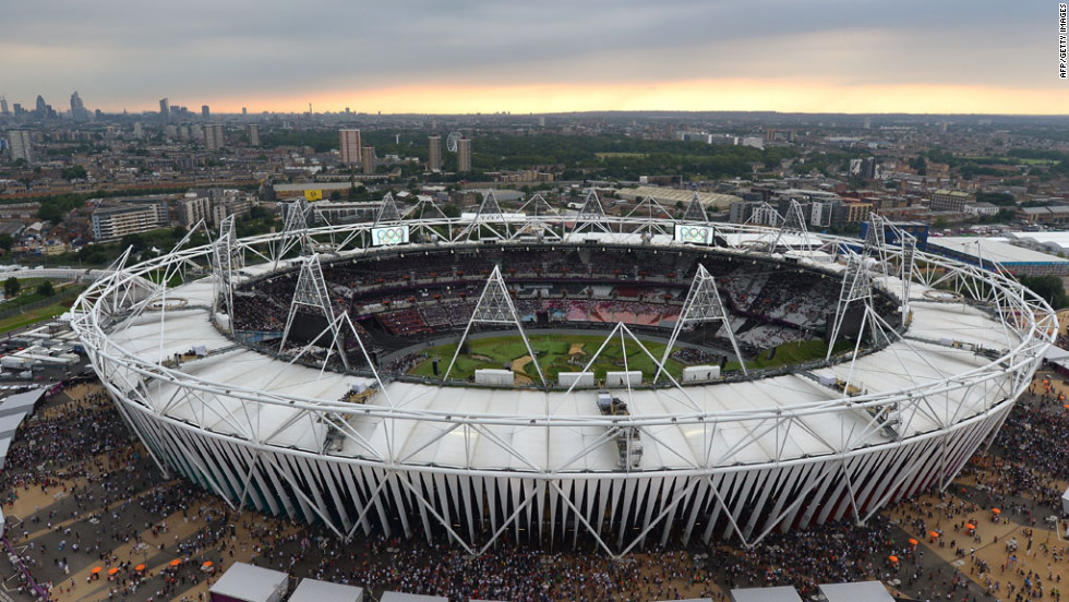 Anticipation builds for the opening ceremony of the Summer Olympics on Friday, July 27, at the Olympic Stadium in London. The 2012 Games will run through August 12.