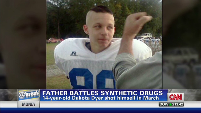 Father working to get drugs off streets