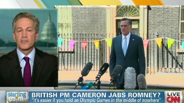 Romney adviser talks international trip