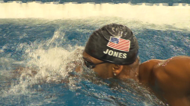A first for USA Olympic swim team