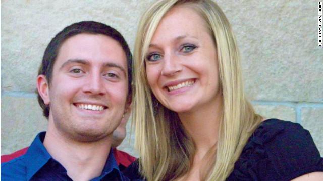 Girlfriend Amanda Lindgren credits Alex Teves with saving her life.