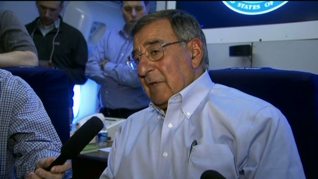 Panetta travels to North Africa, Mideast