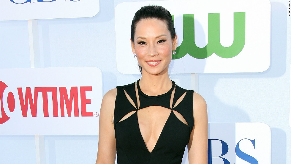 """Elementary"" star Lucy Liu arrives at the 2012 Summer TCA Party hosted by The CW, CBS and Showtime in Beverly Hills on July 29."