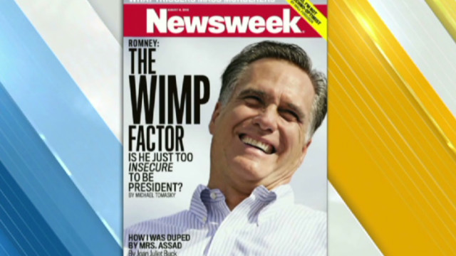 Newsweek: Is Romney a wimp?