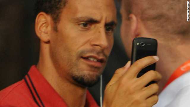 "Rio Ferdinand has been charged for tweets describing Ashley Cole as a ""choc ice"""
