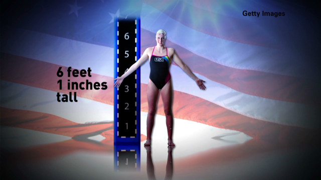 Missy Franklin: Games swimming star