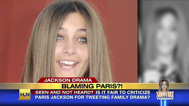 Paris slammed for Jackson drama