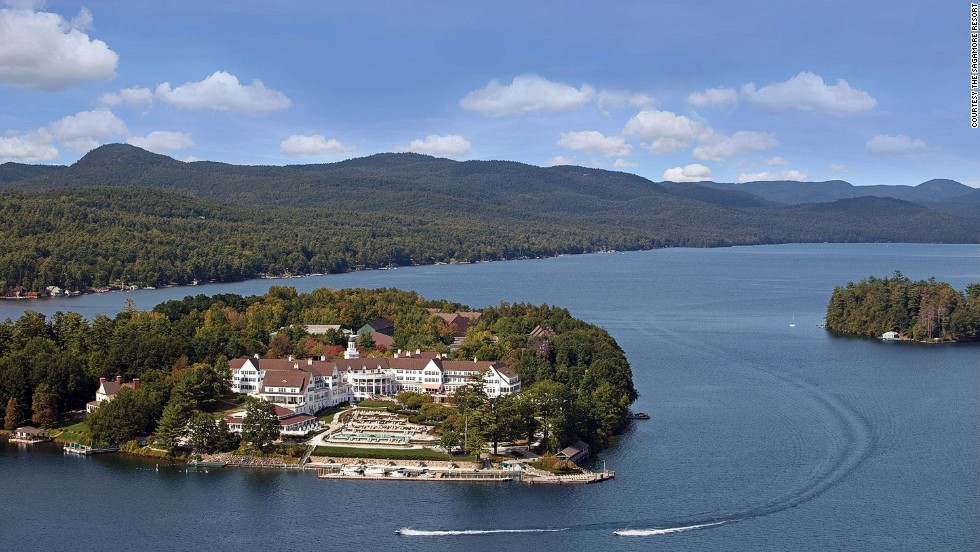 The Sagamore Resort on Lake George has been hosting guests for more than 100 years.