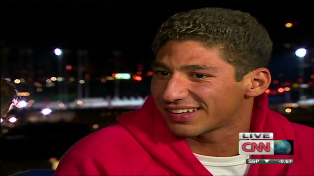 ctw intv syrian swimmer at olympics_00025910