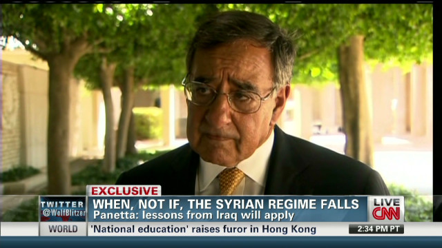 exp Secretary Panetta on post-Assad Syria_00000401