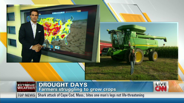 Worsening drought impacts farmers