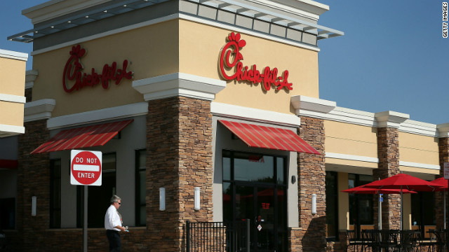 Chick-fil-A caught in a firestorm