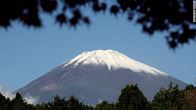CNN joins Google to map Mount Fuji