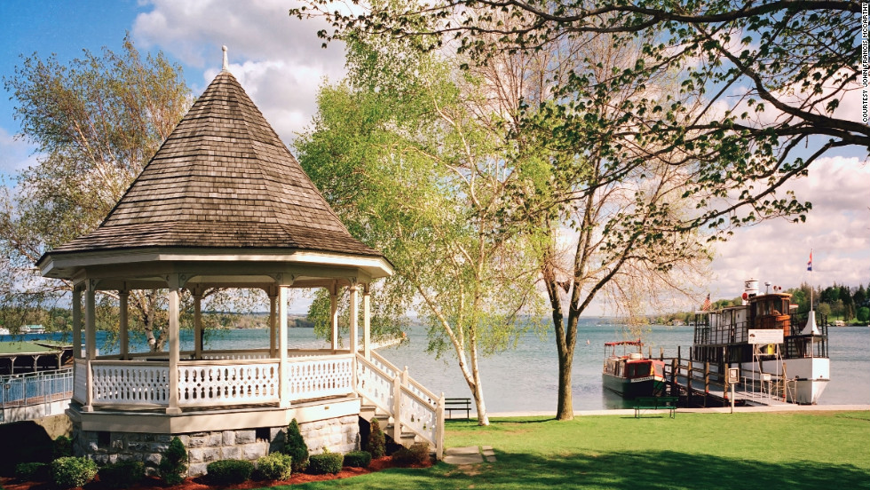 This town on the northern tip of Skaneateles Lake offers outdoor activities paired with easy access to first-class lodging and dining.