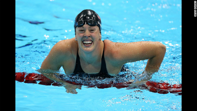 Olympic medalist swimmer takes on depression with help of Phelps, others