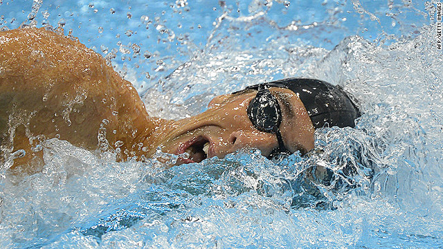 Swimming stars shine during 2012 Games