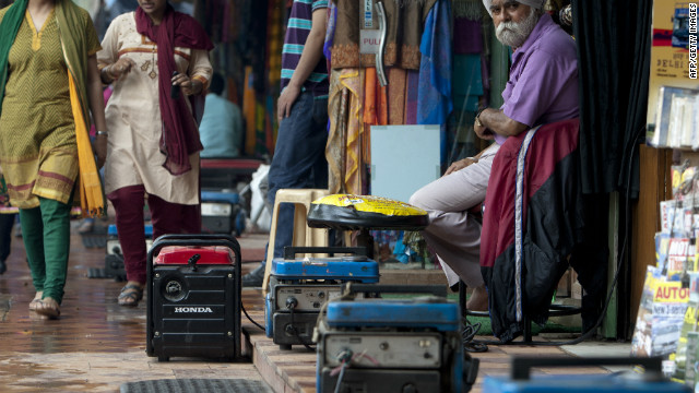 India in the dark for another day
