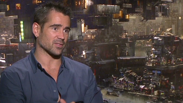 Colin Farrell on how sons saved him