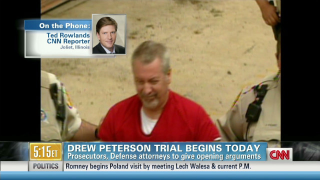 Peterson trial opening statements today