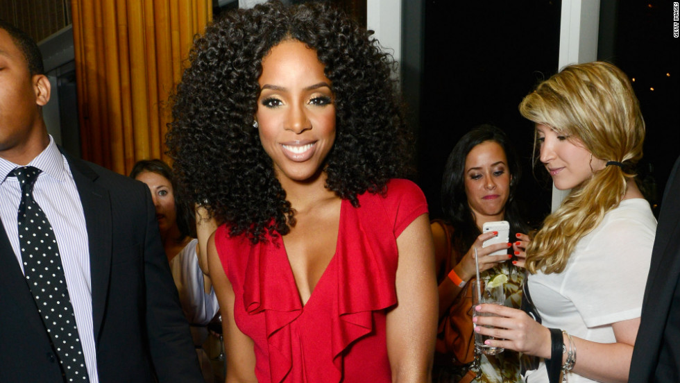 Kelly Rowland attends an event in New York City.
