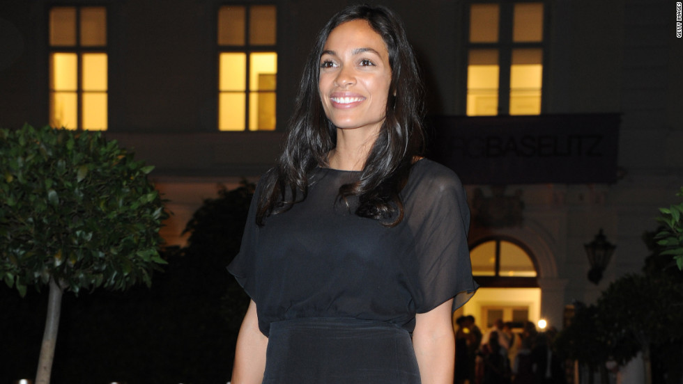 Rosario Dawson is photographed at the Salzburg Festival in Austria.