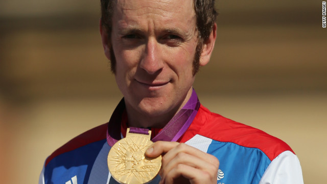 Bradley Wiggins is now Britain's most decorated Olympian