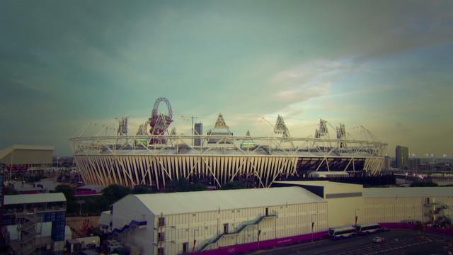 Beautiful time-lapse of Olympic Stadium