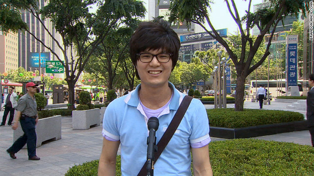 28-year-old Park In-sup steps up to CNN's open mic to give his thoughts on why Koreans are obsessed with gaming.