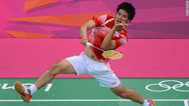 Badminton players throwing matches?