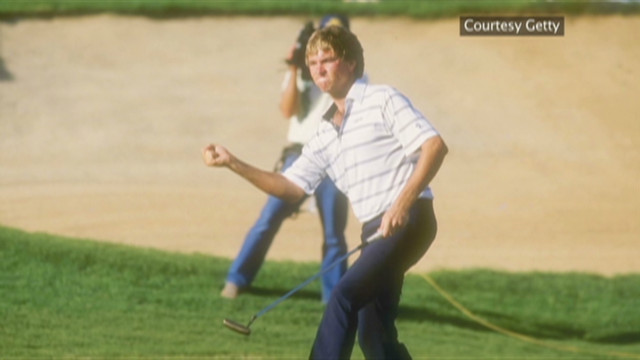 Davis Love III's golfing family