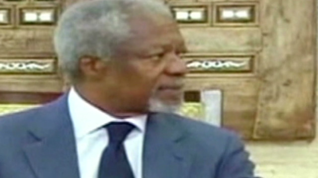 Ban: Annan resigning as envoy for Syria