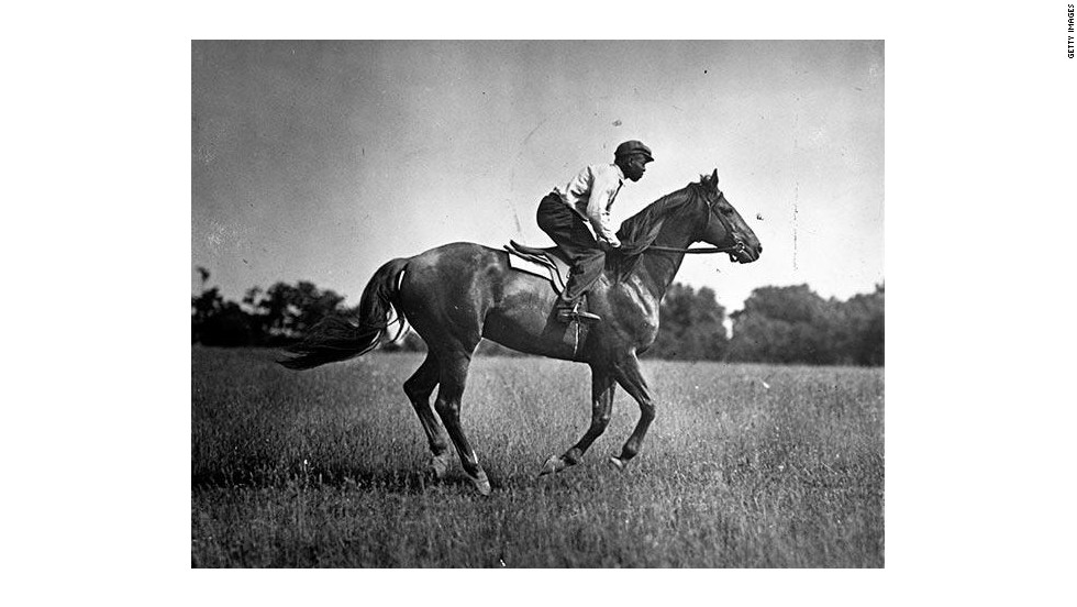 American horse Man o' War won 20 of 21 races he started, raking in more than $7.5 million in today's equivalent prize money. For six races as a two-year-old, his handicap of 130 pounds was one of the heaviest ever carried.