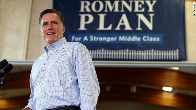Presumptive GOP nominee Mitt Romney campaigned in Colorado Thursday.