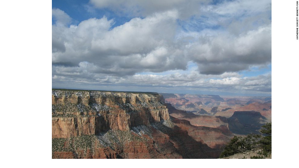 "Extreme temperatures and a lack of water make backpacking in the Grand Canyon especially challenging. ""Know and respect your limitations,"" the National Park Service's website cautions."