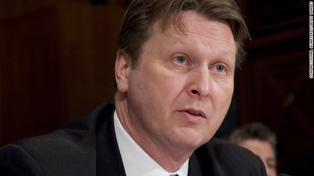 ATF Deputy Director William Hoover resigned Thursday.