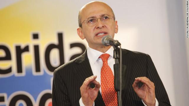 El fiscal general de Colombia, Eduardo Montealegre.
